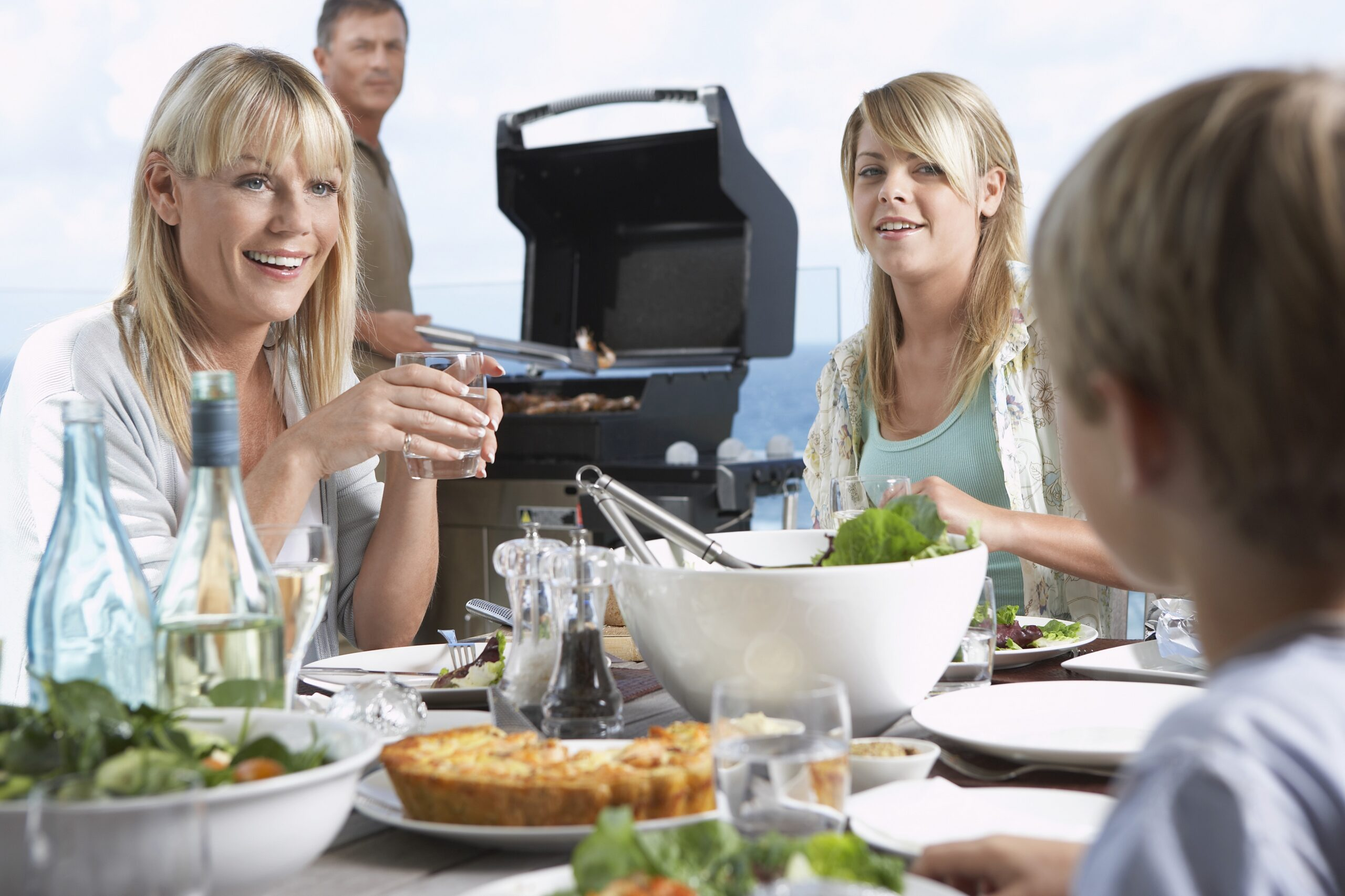 przyjęcie rodzinne z grillem gastronomicznym