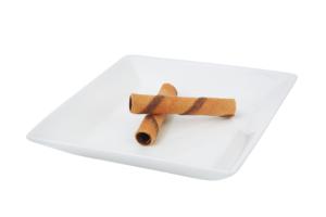 płaski talerz do wyposażenia gastronomii
